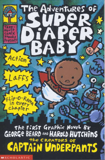 Picture of The Adventures of Super Diaper Baby