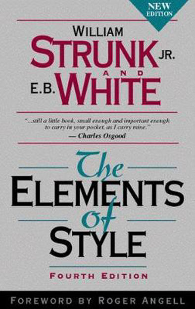Picture of The Elements of Style