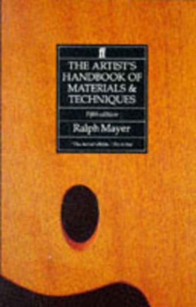Picture of The Artist's Handbook of Materials and Techniques