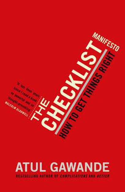 Picture of The Checklist Manifesto: How to Get Things Right