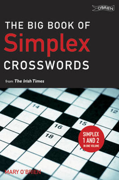 """Picture of The Big Book of Simplex Crosswords from the """"Irish Times"""""""
