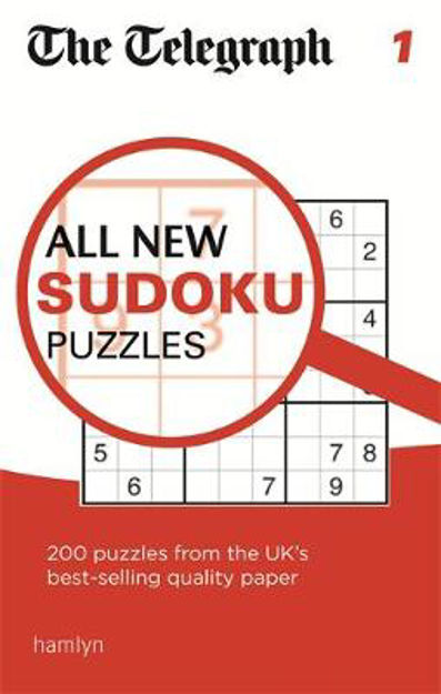 Picture of The Telegraph All New Sudoku Puzzles: 1