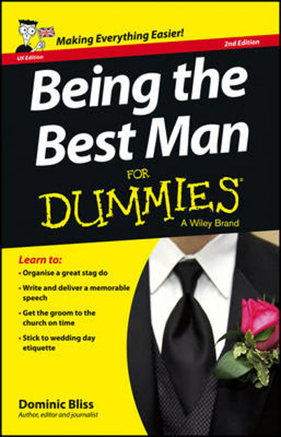 Picture of Being the Best Man For Dummies
