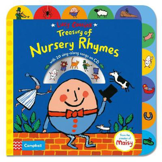 Picture of Lucy Cousins Treasury of Nursery Rhymes: Big Book of Nursery Rhymes and CD