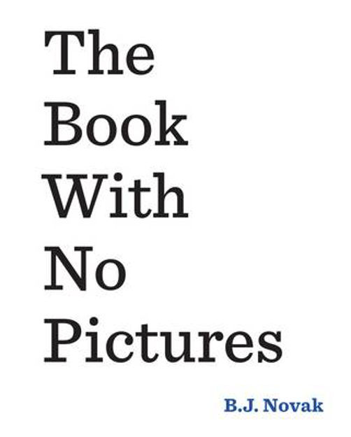 Picture of THE BOOK WITH NO PICTURES