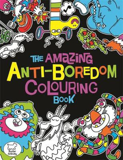 Picture of Amazing Anti Boredom Colouring Book
