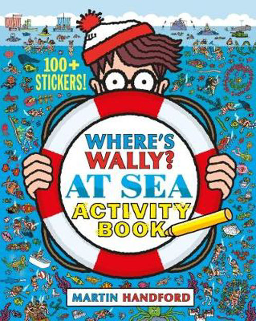 Picture of Where's Wally At Sea: Activity Book
