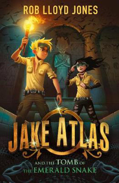 Picture of Jake Atlas & Tomb Of The Emerald Snake