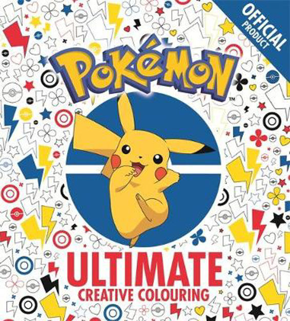 Picture of The Official Pokemon Ultimate Creative Colouring