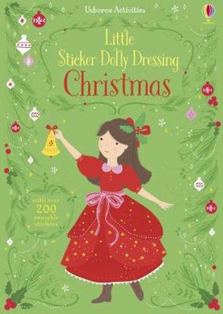 Picture of Little Sticker Dolly Dressing Christmas