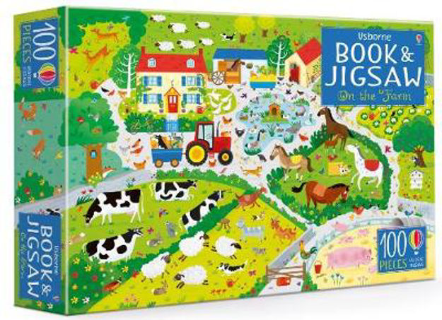 Picture of Usborne Jigsaw with a Book: On the Farm