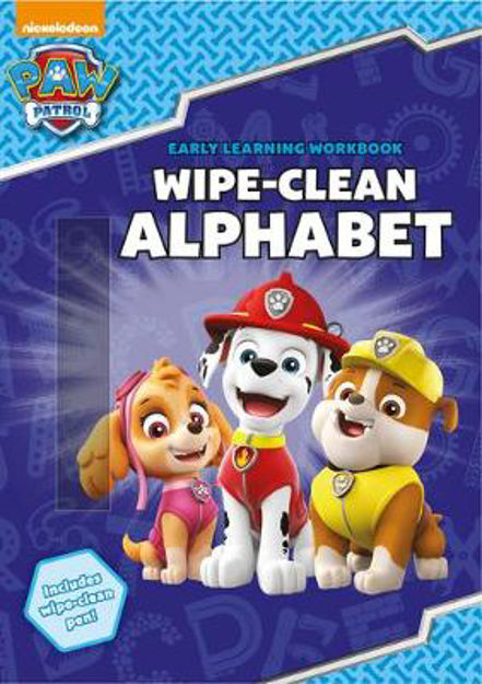 Picture of PAW Patrol: Wipe-Clean Alphabet