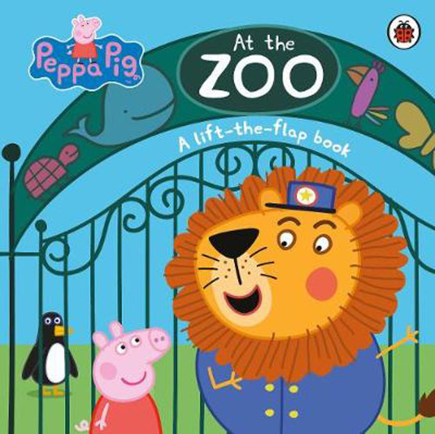 Picture of Peppa Pig: At the Zoo: A lift-the-f