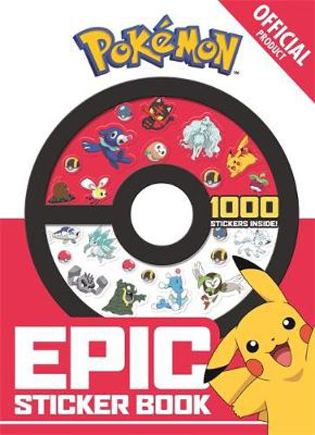Picture of Official Pokemon Epic Sticker Book