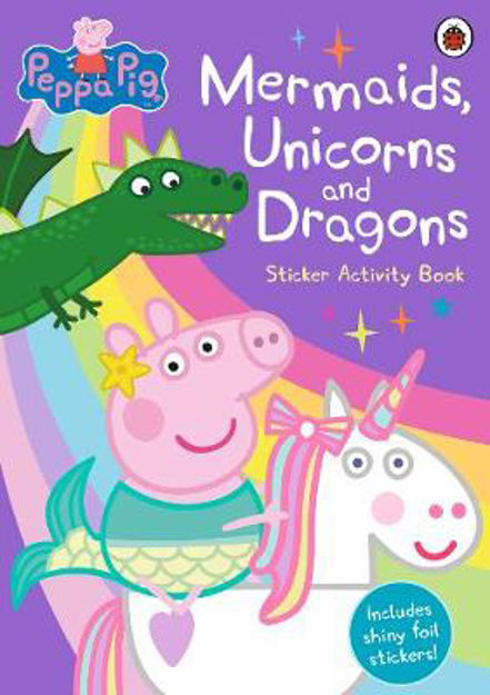 Picture of Peppa Pig: Mermaids, Unicorns and Dragons Sticker Activity B