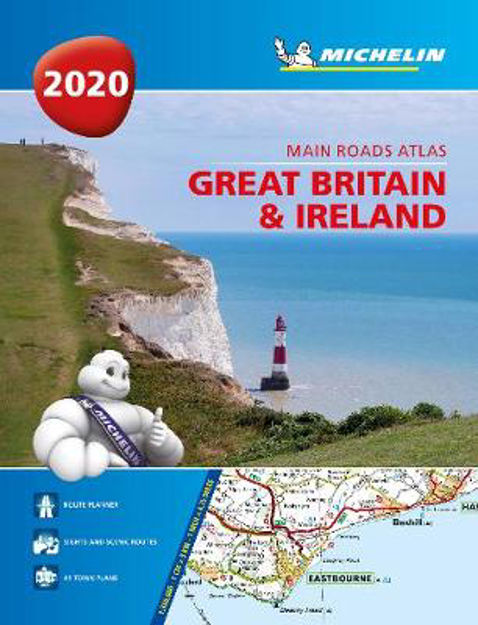 Picture of Great Britain & Ireland 2020 - Mains Roads Atlas (A4-Spiral): Tourist & Motoring Atlas A4 spiral