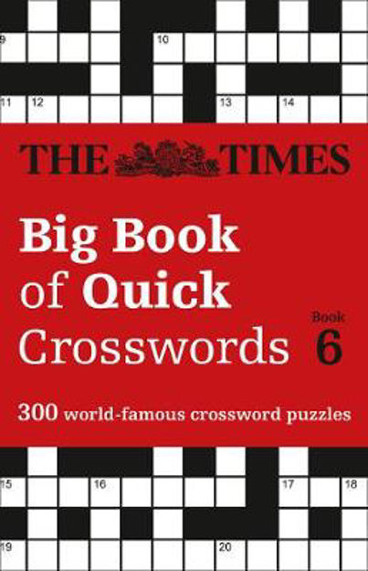 Picture of Times Big Book of Quick Crosswords Book 6
