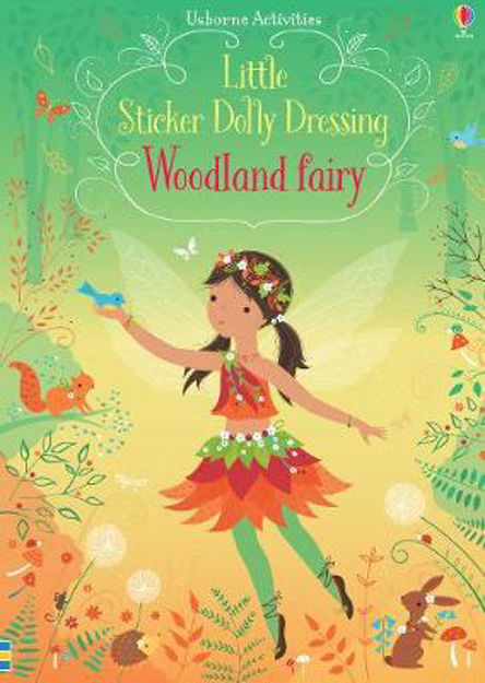Dubray Books Little Sticker Dolly Dressing Woodland Fairy