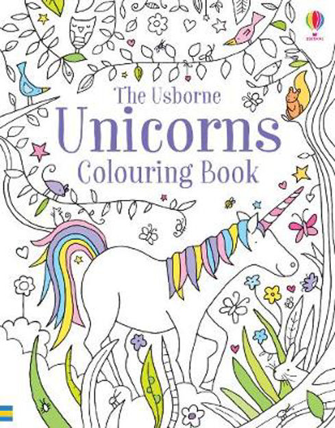 Picture of Unicorns Colouring Book