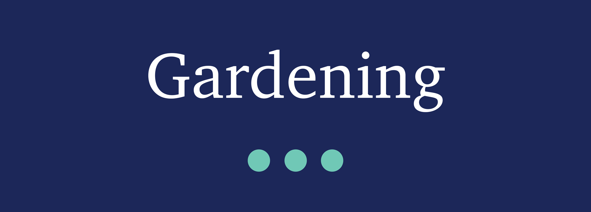 Picture for category Gardening