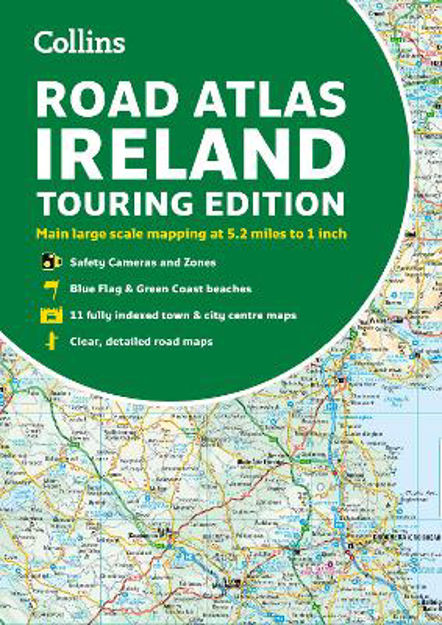 Picture of Collins Ireland Road Atlas: Touring edition