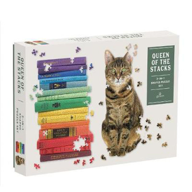 Picture of Queen of the Stacks 2-in-1 Jigsaw set