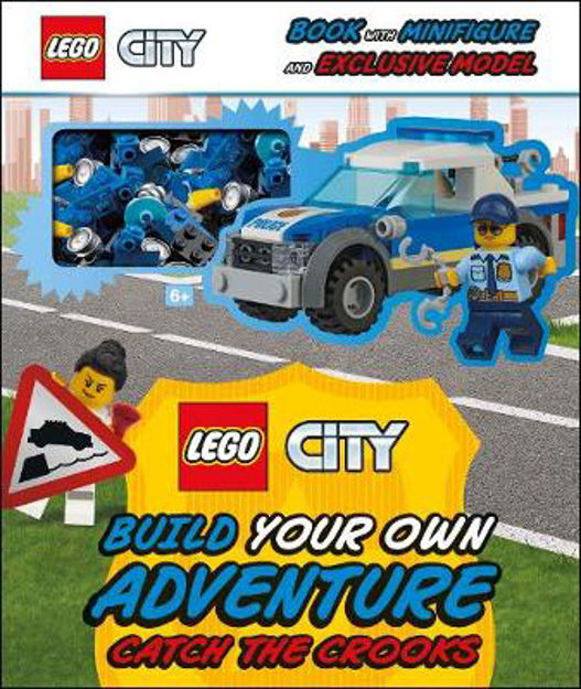 Picture of LEGO City Build Your Own Adventure Catch the Crooks: with minifigure and exclusive model