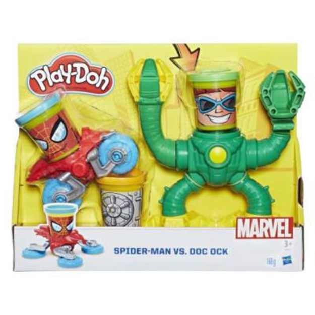Picture of PLAYDOH SPIDERMAN VS DOCTOR OCTOPUS
