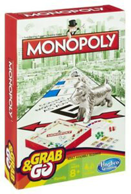 Picture of MONOPOLY GRAB AND GO