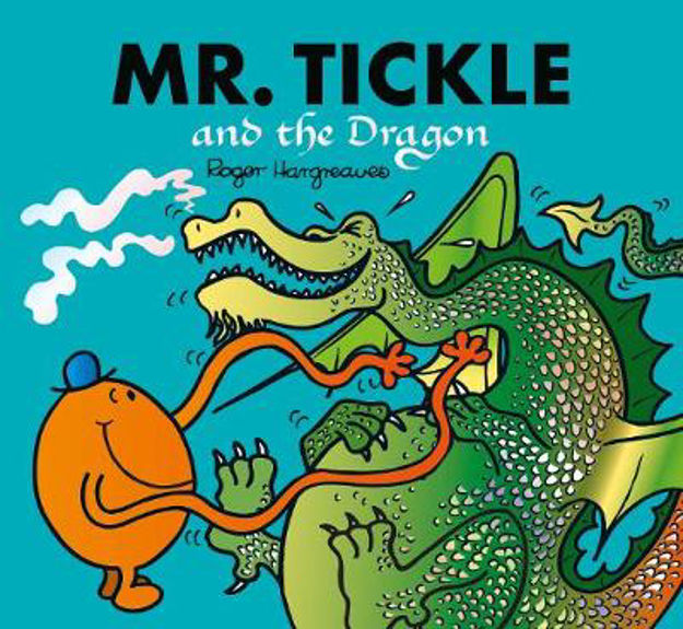 Picture of Mr. Tickle and the Dragon: Mr. Men
