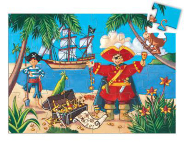 Picture of Pirate & his Treasure Jigsaw