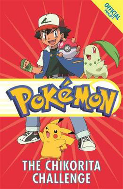 Picture of The Official Pokemon Fiction: The Chikorita Challenge: Book 14