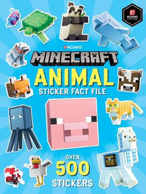 Picture of Minecraft Animal Sticker Fact File