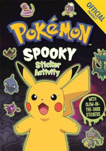 Picture of Official Pokemon Spooky Sticker Book