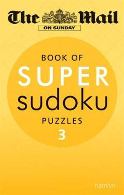 Picture of The Mail on Sunday: Super Sudoku: Volume 3
