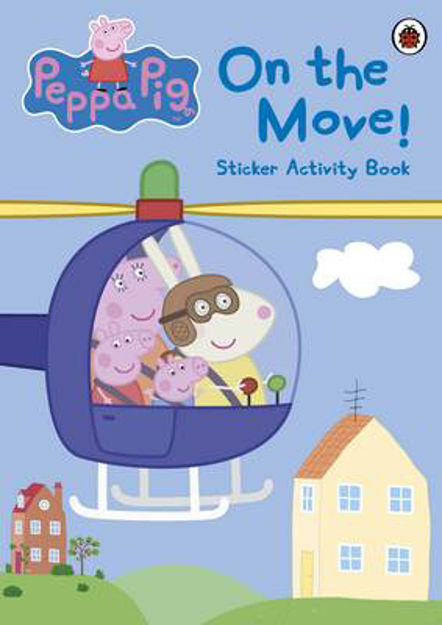 Picture of Peppa Pig: On the Move! Sticker Activity Book
