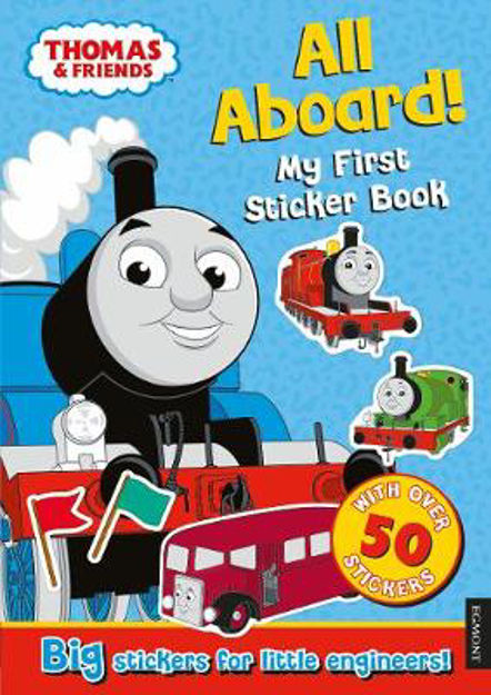 Picture of Thomas the Tank Engine All Aboard!: My First Sticker Book