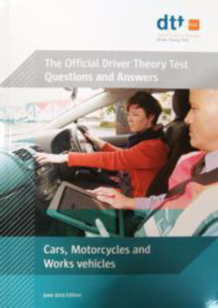 Picture of Driver Theory Test Book: Cars, Motorcycles & Work Vehicles