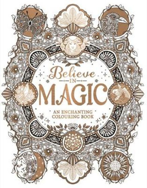 Picture of Believe in Magic: An Enchanting Colouring Book