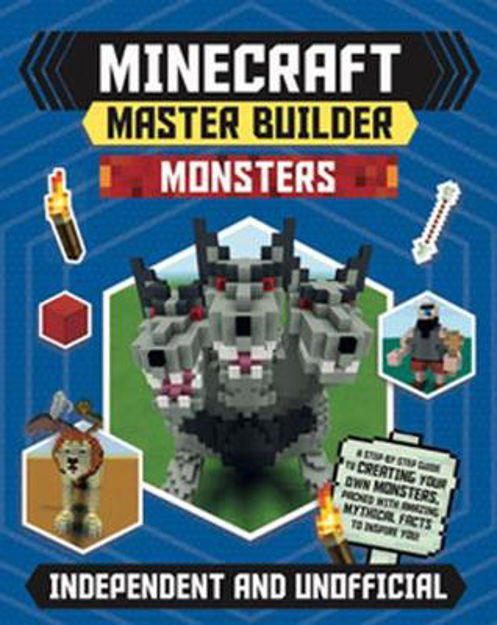 Picture of Minecraft Master Builder: Monsters