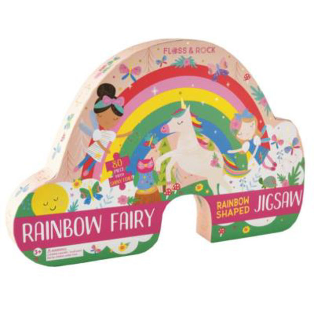Picture of Rainbow Fairy 80-piece Jigsaw