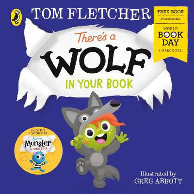 Picture of There's a Wolf in Your Book (World Book Day 2021)