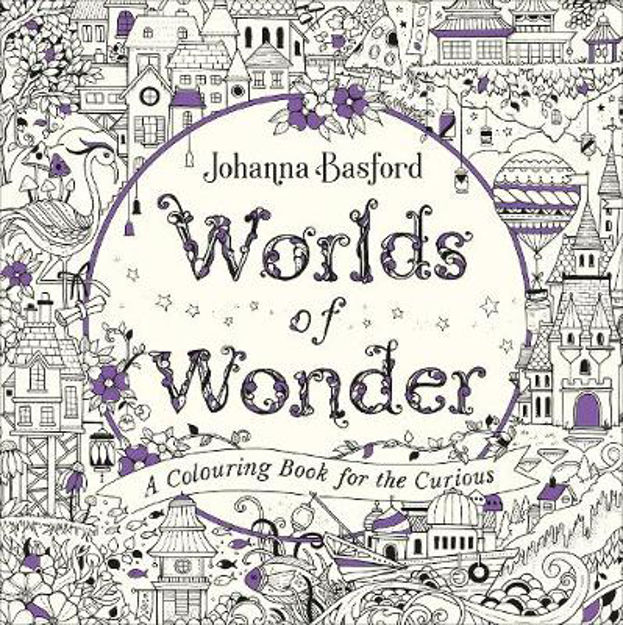 Picture of Worlds of Wonder: A Colouring Book for the Curious