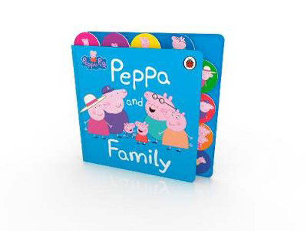 Picture of Peppa Pig: Peppa and Family: Tabbed Board Book